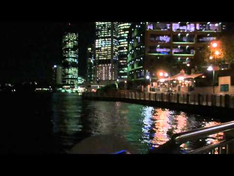 Brisbane Waterfront: Approaching CBD Area