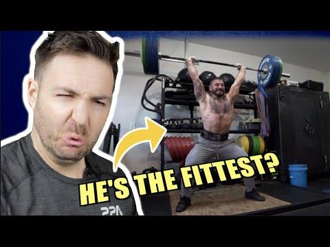 COACH REACTS to FITTEST MAN EVER Mat Fraser (RETIRED?) GARAGE TRAINING (Team Richey Vlog)