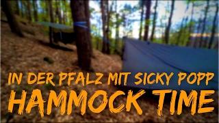In der Pfalz mit Sicky Popp 1/2 | Hängematten Übernachtung mit 2 Gänge Menü