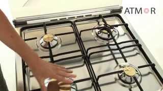 Газовые плиты Fresh модель Fresh 60x60 ITALIANO