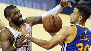 Cavs' Kyrie Irving on guarding Warriors' Stephen Curry