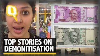 The Quint| Modi's Demonetisation Masterstroke: 5 of Our Stories to Check Out