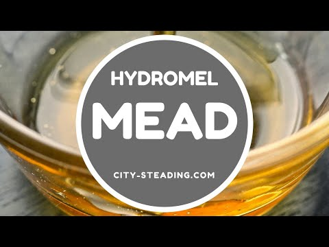 How to Make Mead - Hydromel Mead