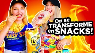 ON SE TRANSFORME EN SNACKS! | 2e peau