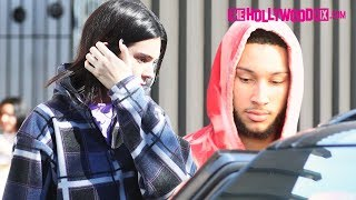 Kendall Jenner & Ben Simmons Have Lunch Before Shopping At Barneys On New Years Eve 12.31.18