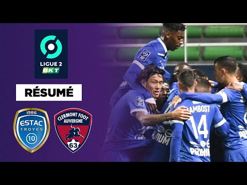 Troyes Clermont Goals And Highlights