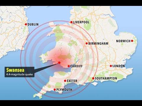 Britain hit by biggest earthquake in a decade as 4.4 magnitude quake hits Swansea - 247 News