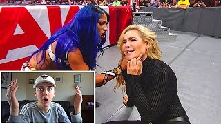 REACTING TO THE RETURN OF SASHA BANKS!