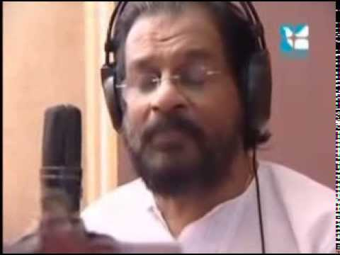 Dr. K. J. Yesudas Performing Christian Devotional Song Aalayam Devalayam from Abum Divyanjali