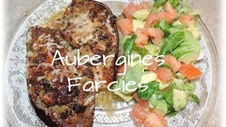 Recette Salee : Aubergines Farcies/ Stuffed Eggplants Recipes @chadcuisine