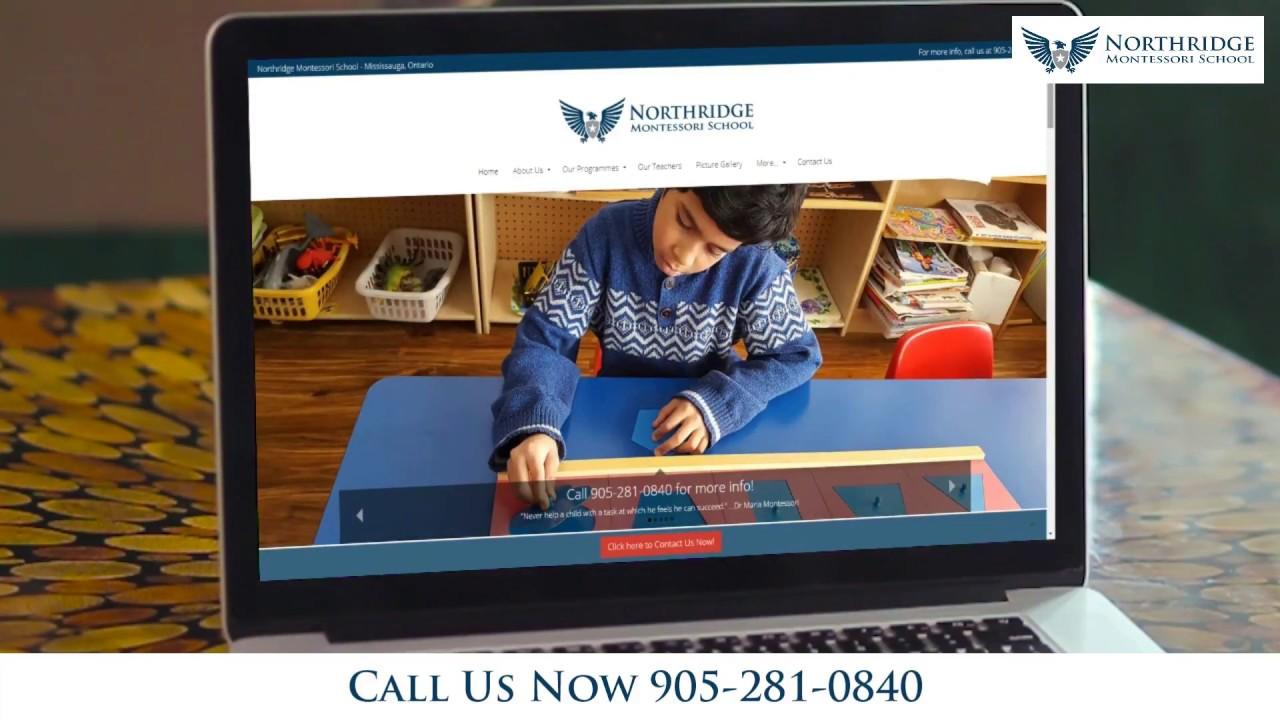 Northridge Montessori School | Montessori Preschool in Mississauga | 905-281-0840