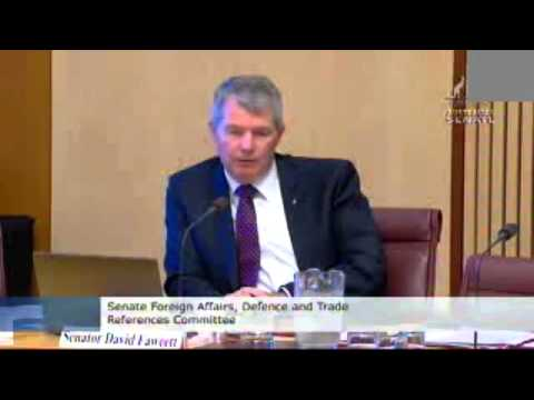 Sir R. Williams Foundation - JSF Hearing - Foreign Affairs, Defence and Trade References Committee