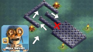 "WaLL tROLL EvEnt! ""Clash Of Clans"" BLOW UP ALL WALLS!"