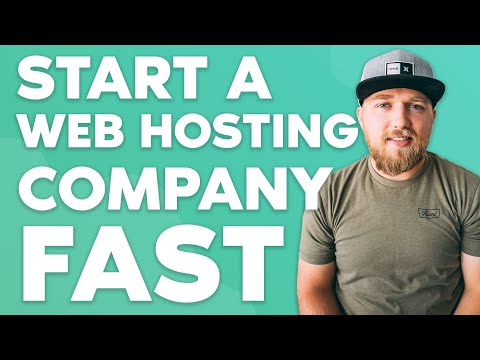 How to Start a Web Hosting Company in Under 10 Minutes