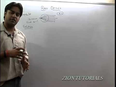 Solved Questions On Refraction - Ray Optics Part-10