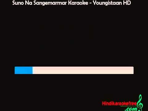 Suno Na Sangemarmar Video Karaoke   Youngistaan Karaoke HQ 2