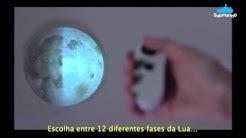 Luminária de Parede Lua Uncle Milton - Submarino.com.br