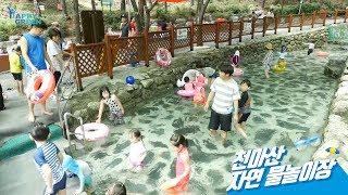 천마산 자연 어린이 물놀이장_하이라이트