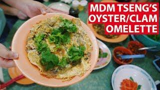Mdm Tseng&#39s OysterClam Omelette  Vanishing Recipes  CNA Insider