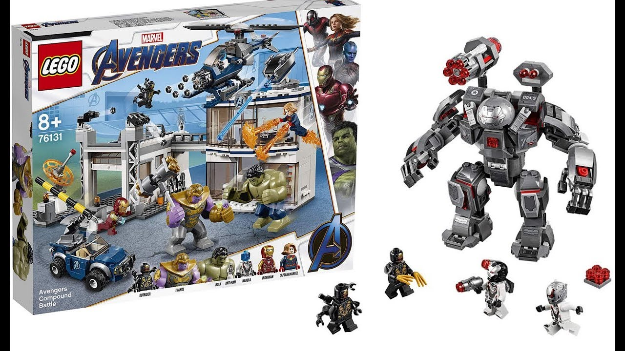 LEGO Avengers Endgame OFFICIAL SET PICTURES! - YouTube
