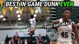 THE BEST DUNK EVER!!! Niven Glover Throws Down Most INSANE Dunk You've EVER SEEN 😱