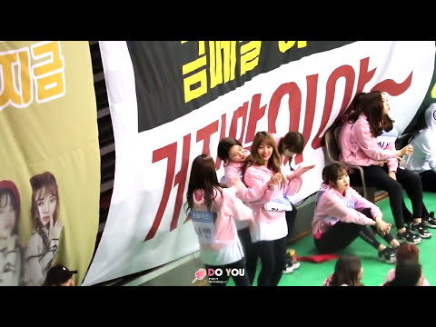 01162017 TWICE DANCES TO BLACKPINK AT ISAC2017