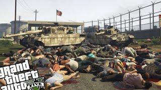 GTA V PC Mods - Bodyguards vs Army (Huge Massacre)
