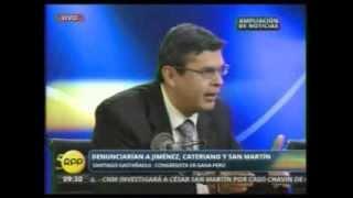 Debate Santigo Gastañadui sobre reunión del caso Chavín de Huántar en RPP