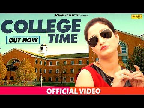 College Time    Nippu Nepewala & Shivani Raghav, D Saini    Haryanvi New Full Song 2017