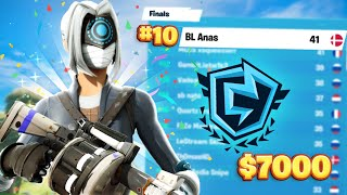 WINNING $7000 in FΝCS Solos by placing 10th | Anas