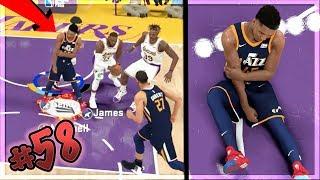 ANGRY LEBRON JAMES INJURES DONOVAN MITCHELL on Hall of FAME! NBA 2k20 MyCAREER Ep. 58