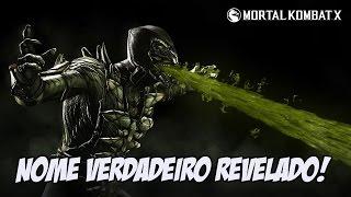 Mortal Kombat X - NOME REAL DO REPTILE REVELADO EASTER EGG INCRÍVEL