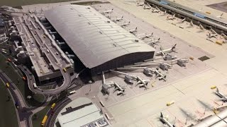 JFK 1:400 model airport 7:30am-7:45am update