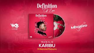 Mbosso  Ft Diamond Platnumz - Karibu (Official Audio)