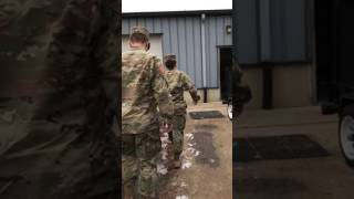 Soldier Surprise Christmas Homecoming
