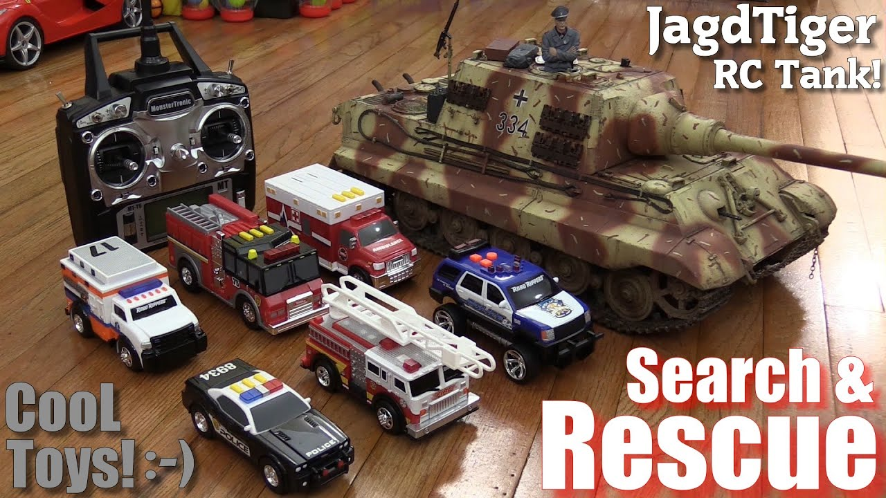 toys for kids search and rescue fire trucks police cars