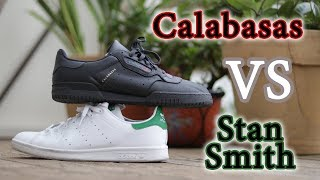 Yeezy Calabasas Vs Adidas Stan Smith | Detailed Look + On Feet Comparison
