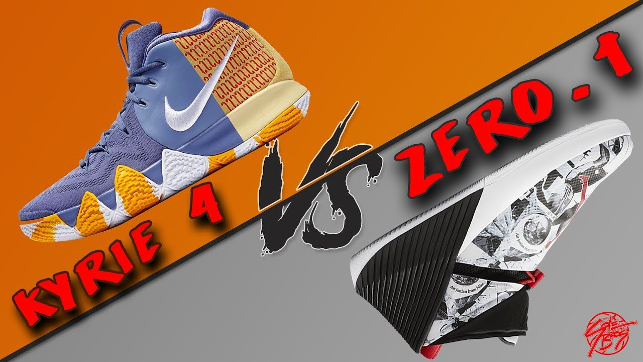 sports shoes 36076 0de97 Nike Kyrie 4 vs Jordan Why Not Zer0.1!