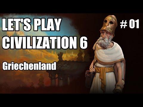 Let's Play - Civilization VI | Griechenland #01 [deutsch]