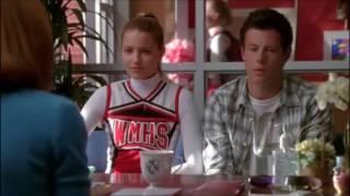 Glee Quinn and Finn want to be cool again 1x08