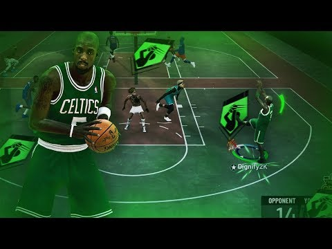 KEVIN GARNETT'S *GLITCHY* POST MOVES ARE UNGUARDABLE! ALL *NEW* POST MOVES ANIMATIONS ON NBA 2K19!
