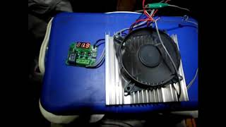 Haz tu propia hielera termoelectrica - Make your own 12v thermo cooler