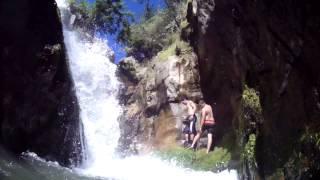 cascada de tranquilidad en pueblo bello (cesar)
