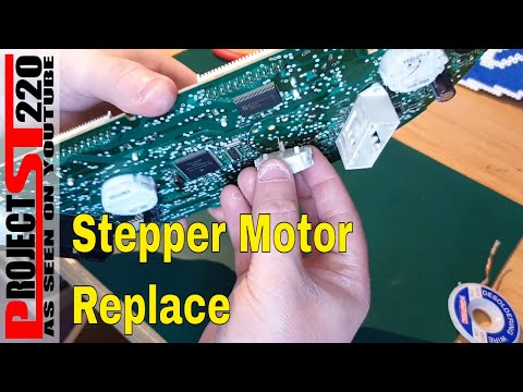 Ford Stepper Motor Replace And Led Change