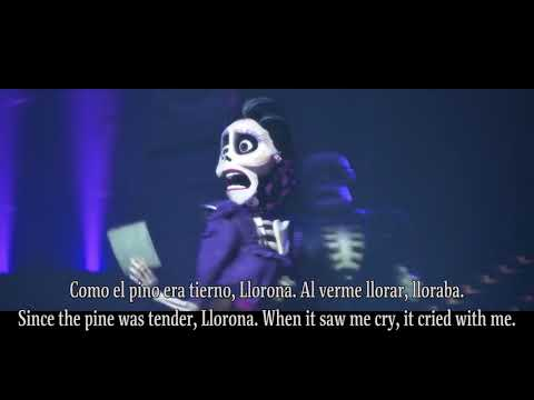 "Coco ""La llorona"" Spanish (Mexico) w/English Subtitles"