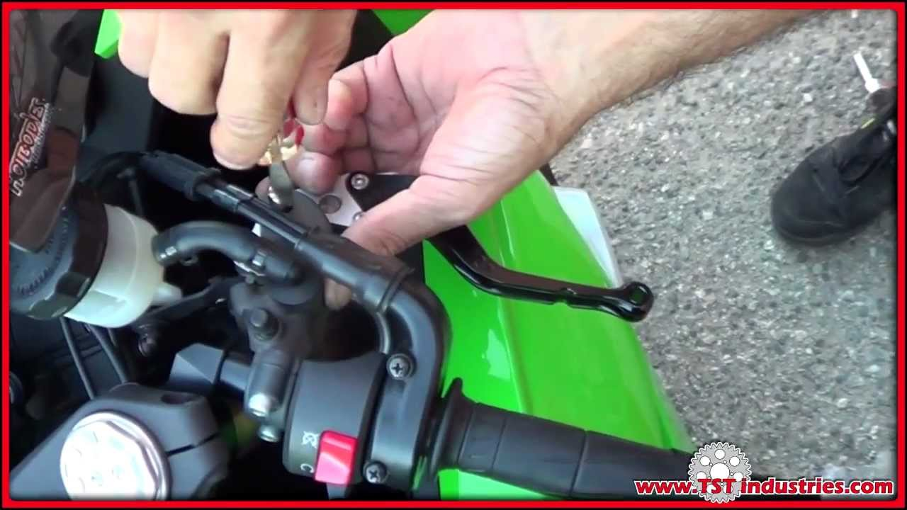 Diy Install Tst Industries Adjustable Shorty Racing Levers On Zx6r