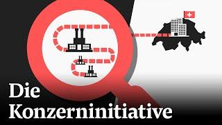 Konzernverantwortungsinitiative: Darüber stimmt die Schweiz ab