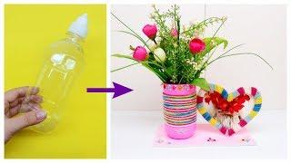 Hướng dẫn làm đồ Handmade quà tặng 20/10 : Lọ hoa và khung ảnh xinh xắn / Ami DIY