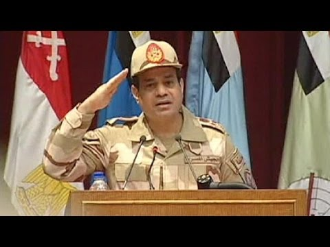 Egypt's army chief al-Sisi is to run for president