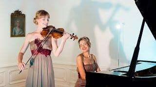 """Ludwig van Beethoven: Sonata vor piano and violin in C Minor, """"Scherzo"""""""